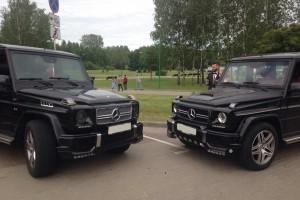 Mercedes G-klass черный