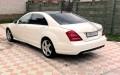 Mercedes S class W221 белый