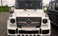 Mercedes G-klass белый