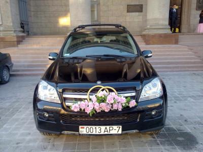 Mercedes GL черный рестайлинг