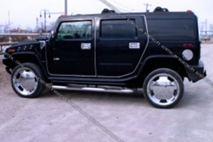 Hummer H2 черный