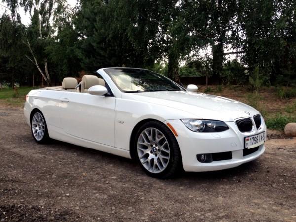 Кабриолет BMW E93 белый