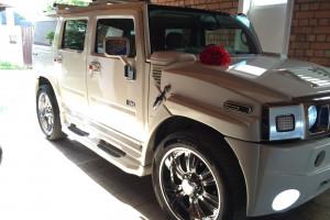 Hummer H2 белый