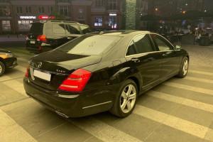 Mercedes S class W221 s500 черный