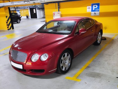 Bentley Continental GT (600 л.с.)