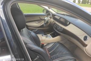Mercedes S class W222 черный