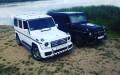 Mercedes G-klass черный