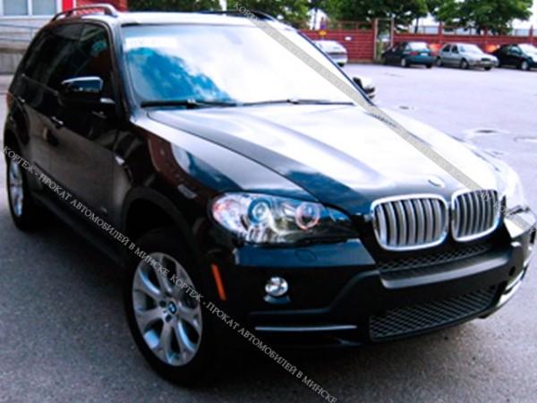 BMW X5 E70 черный рестайлинг