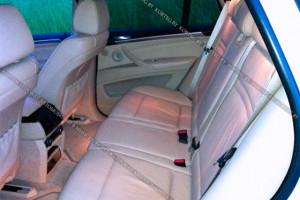 BMW X5 E70  белый рестайлинг